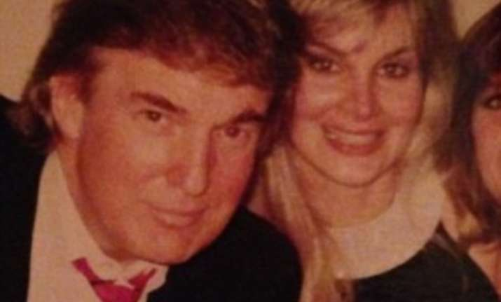 Donald Trump with Jill Harth