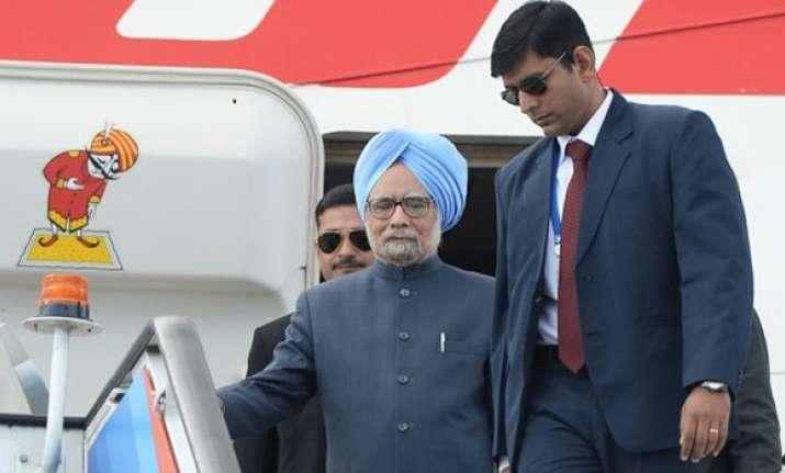 Manmohan Singh's visit to Moscow