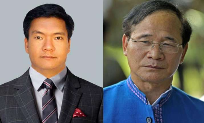 Pema Khandu and Nabam Tuki