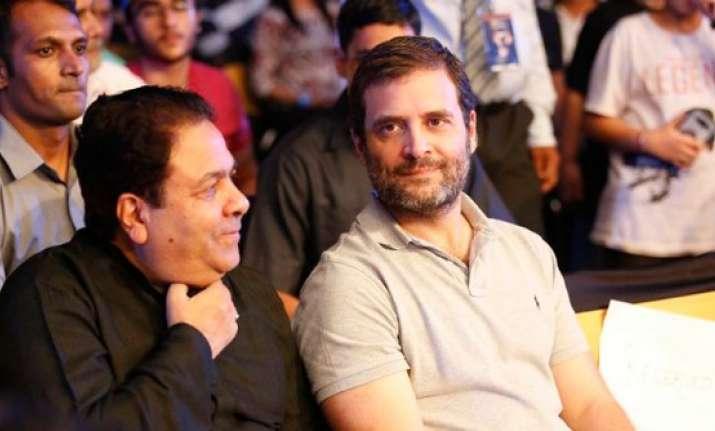 When Rahul Gandhi watched Vijender Singh's title clash