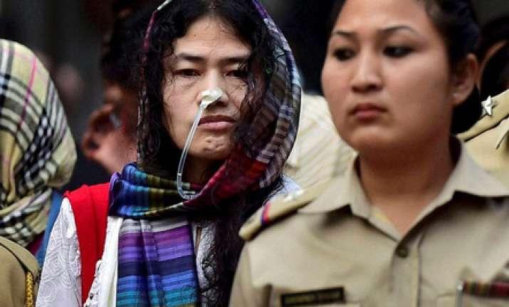 Civil rights activist Irom Sharmila
