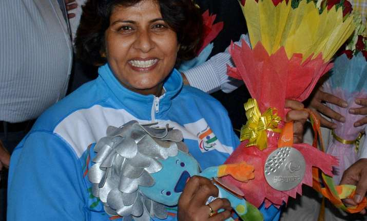 Paralympics silver medallist Deepa Malik