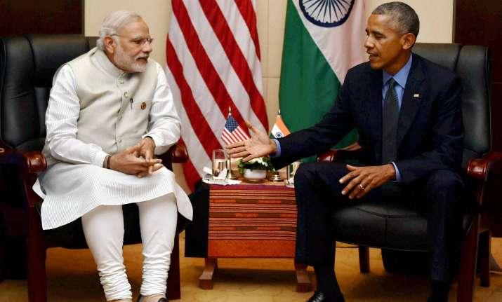 PM Modi with President Obama