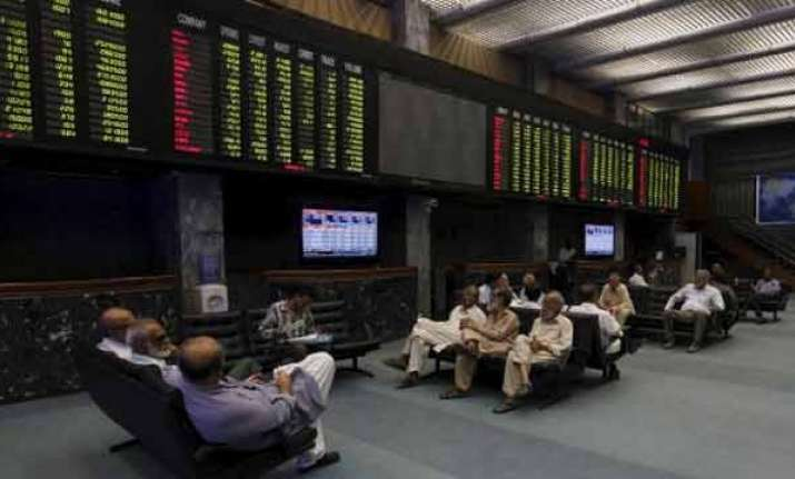Karachi stock exchange plunges