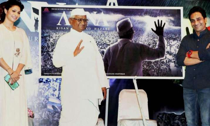 Social activist Anna Hazare's biopic gets a release date