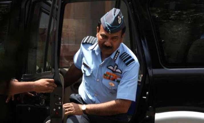 IAF chief Arup Raha