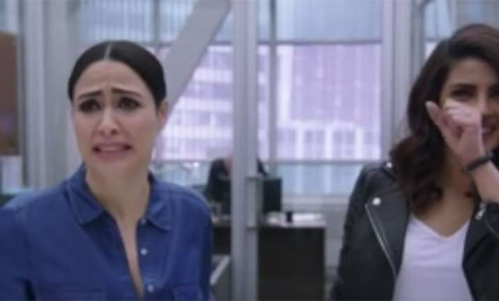 This bloopers video from Priyanka's 'Quantico' should