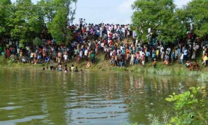 Bus fell in pond in Bihar | India TV