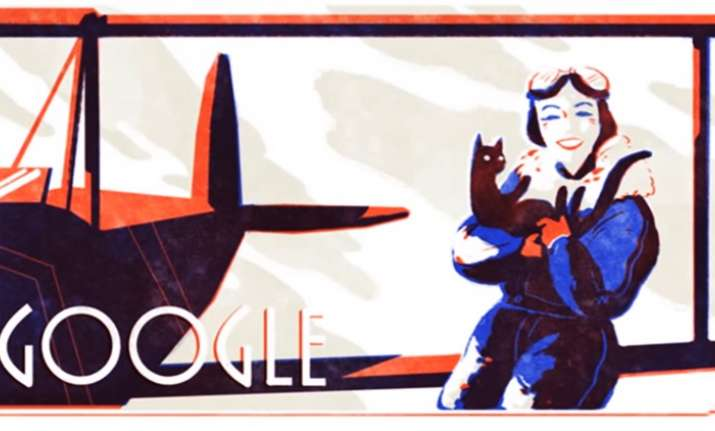 Google doodle honours record-setting female pilot Jean