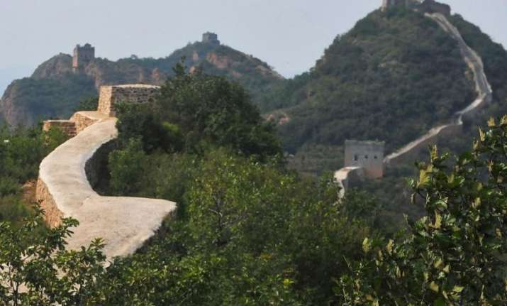 Botched up repair work at great wall of china sparks outrage