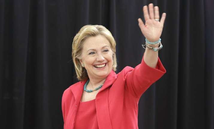 'Fit to serve as President', confirms Hillary