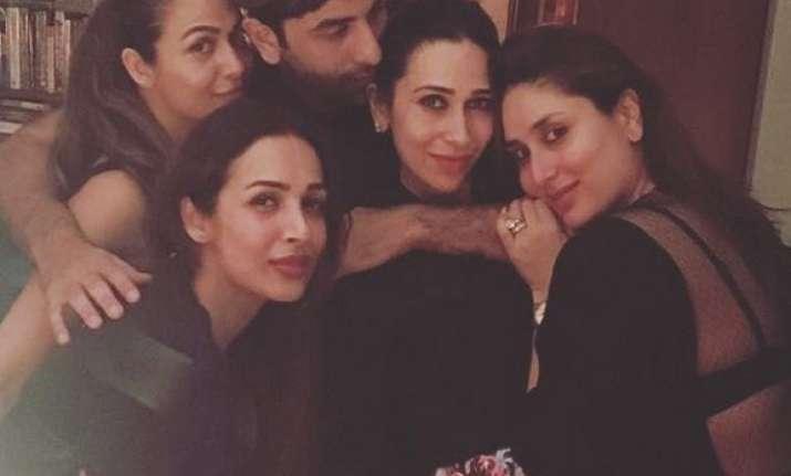 At Kareena's birthday party absence of this 'Kapoor'