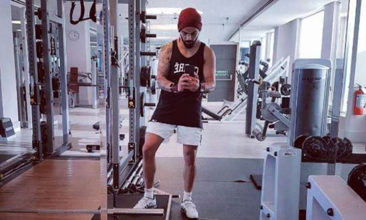 Virat Kohli's workout session ahead of New Zealand series