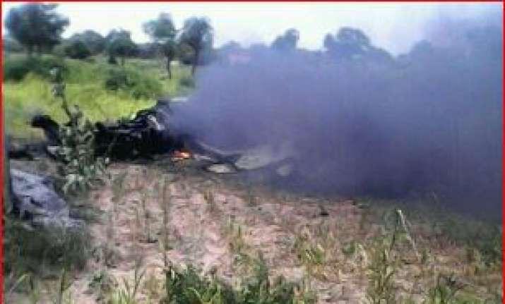 crashed MiG21