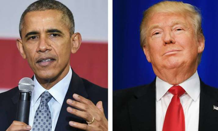 Obama slams Trump