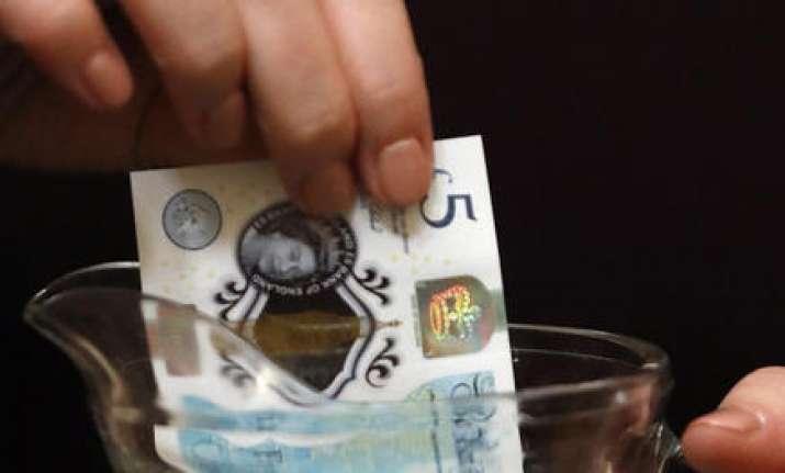 Britain's new plastic money