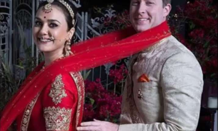 Preity Zinta and Gene Goodenough's wedding pics