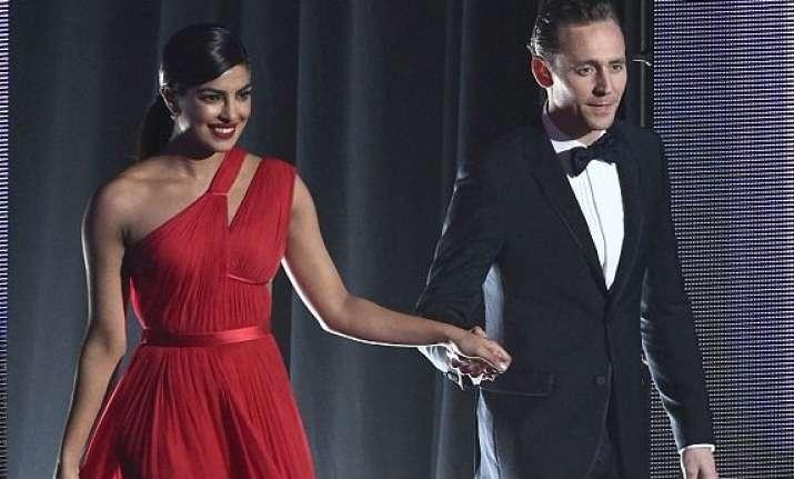 Priyanka Chopra and Tom Hiddleston's 'flirting' takes
