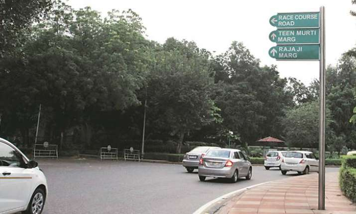 Race Course Road as Lok Kalyan Marg
