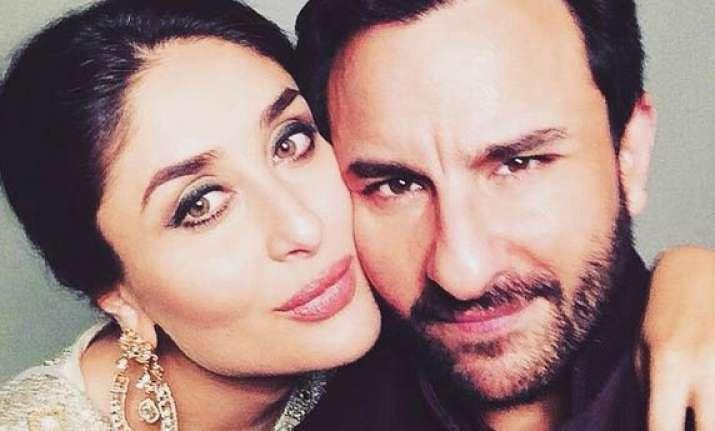 Saif and Kareena shoot for a brand together