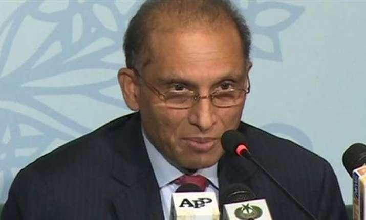 Pakistani Foreign Secretary Aizaz Ahmad Chaudhry