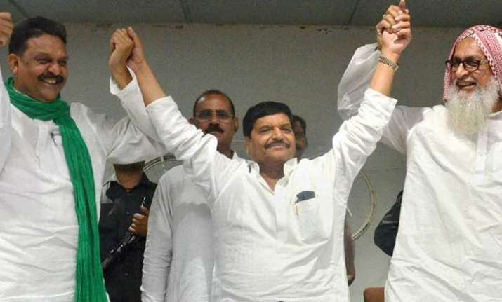 Shivpal Singh Yadav replaces Akhilesh as Samajwadi Party