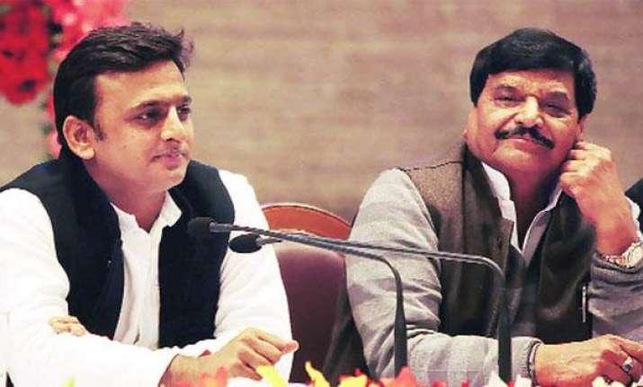 Shivpal Yadav and Akhilesh Yadav | India TV