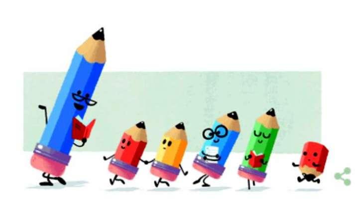 Teachers Day Google Doodle