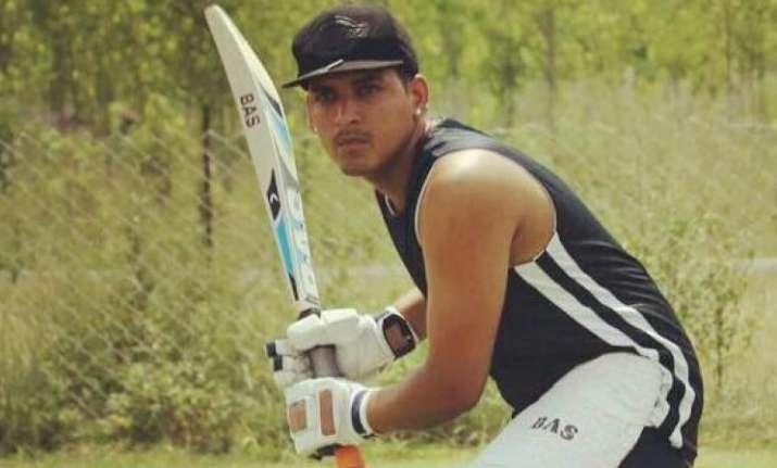 Under-23 cricketer Vikrant Kumar died on Wednesday