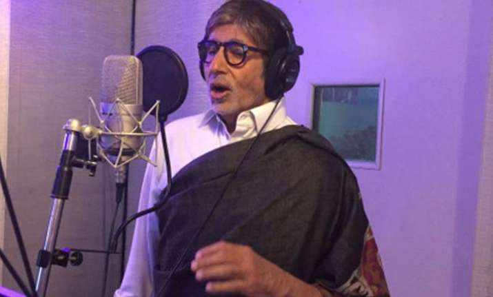 Amitabh Bachchan lends his voice for an upcoming TV serial