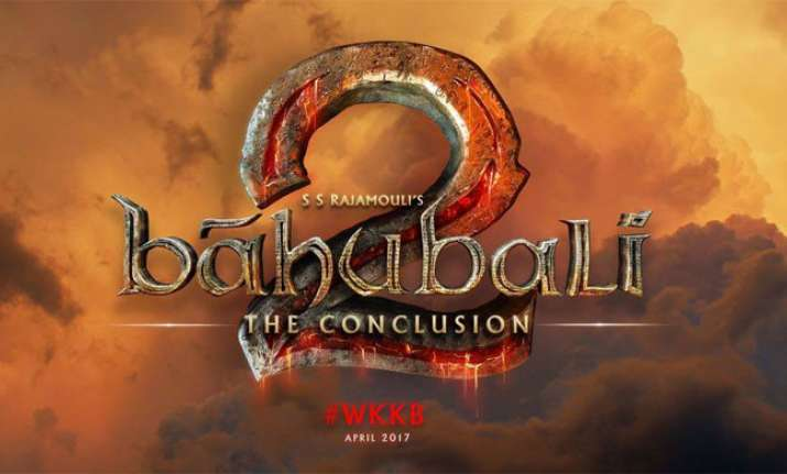Here's the first poster of 'Baahubali 2'