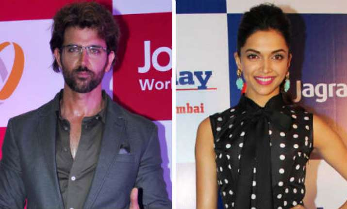 Hrithik is proud of Deepika for showing courage and talking