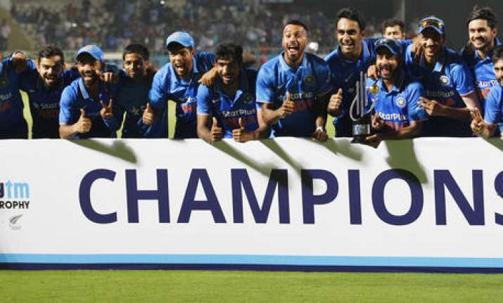 Ind win series against NZ 3-2