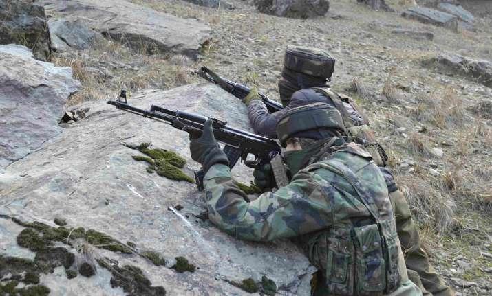 Encounter between militants, security forces underway in