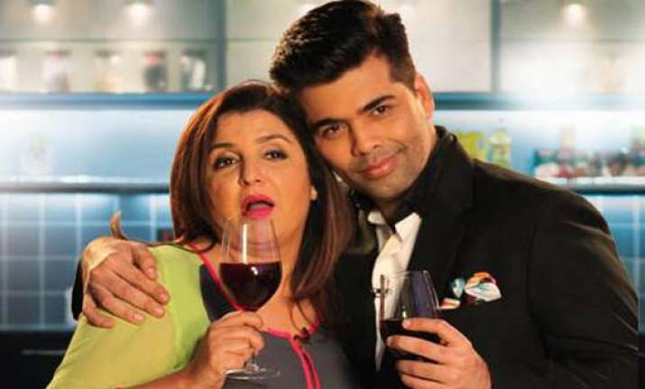 Farah says KJo is stressed and he poured his heart out in