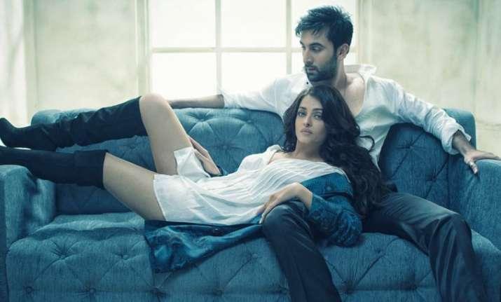 Ranbir-Ash's sizzling photo shoot