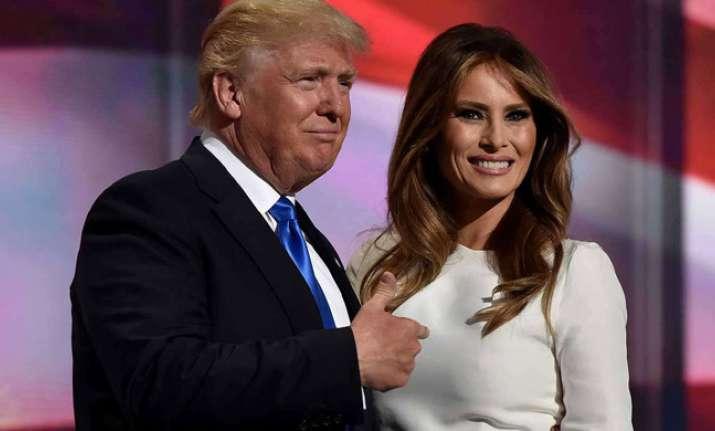 Melania Trump defended her husband