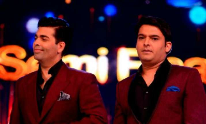 Karan Johar, Kapil Sharma- India Tv