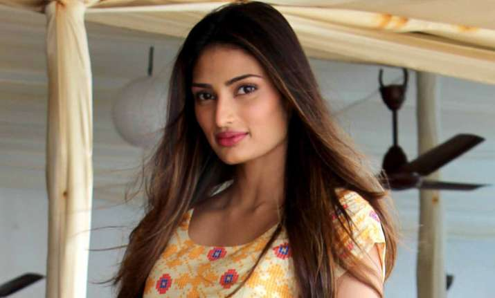 Athiya Shetty nervous about working in Arjun Kapoor's