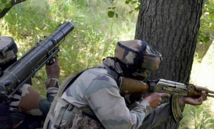 army launches counter attack