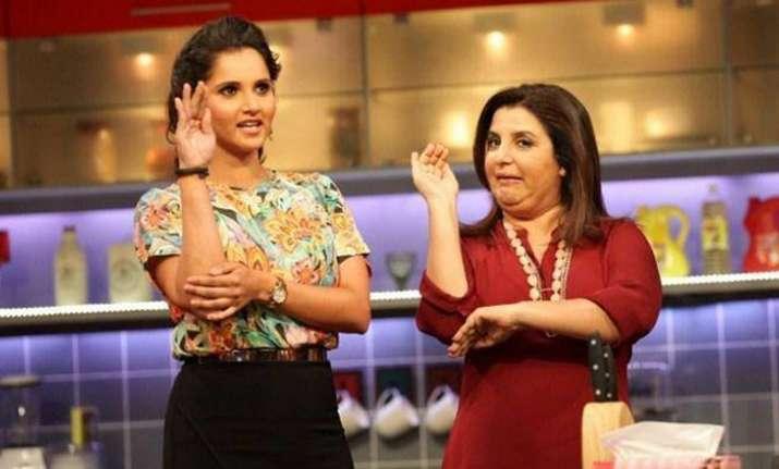 Sania Mirza, Farah Khan- India Tv