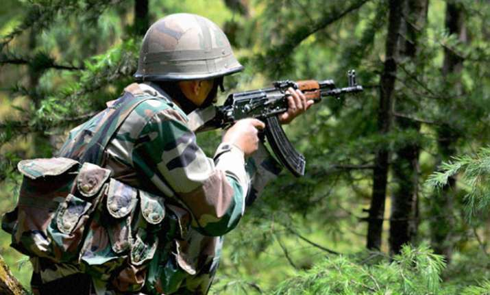 One Indian Army jawan was today killed by Pakistani Army