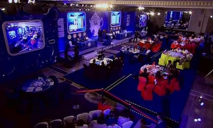 IPL 10 Auction to be held next month