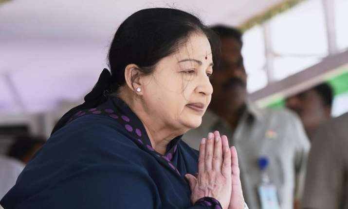 File Photo of Jayalalithaa