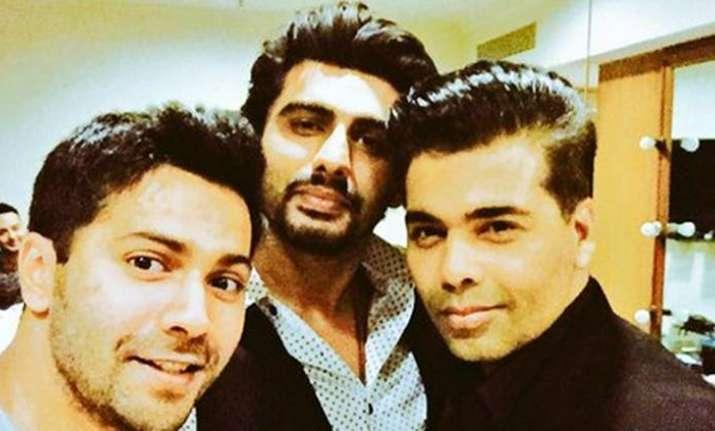Karan Johar, Varun Dhawan, Arjun Kapoor- India Tv