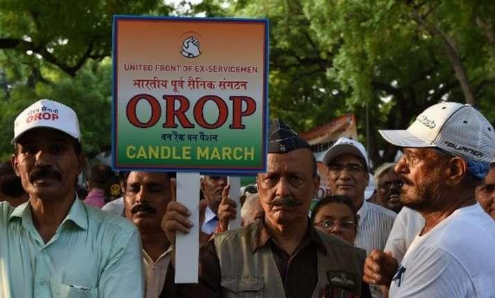 The three ex-servicemen hail from a village in Haryana's