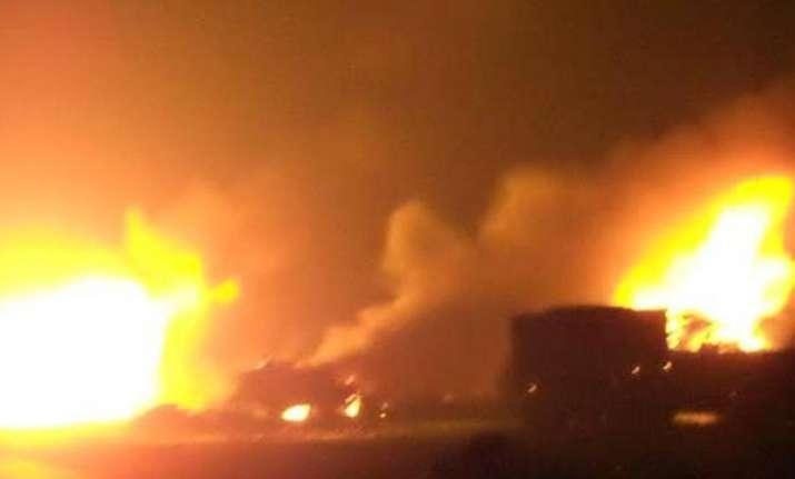 Blast in Mozambique
