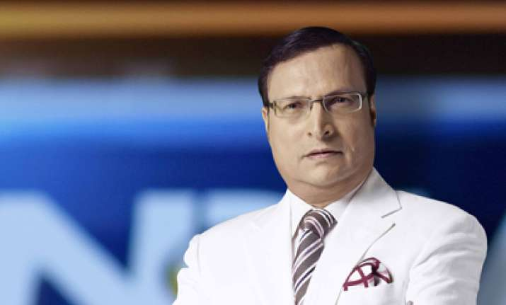India TV Chairman and Editor-in-chief Mr Rajat Sharma