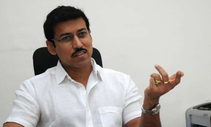 File Photo of Rajyavardhan Rathore