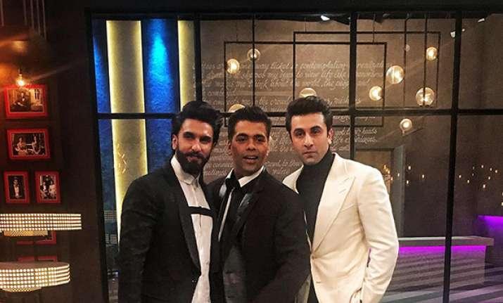 anveer-Ranbir to appear on Koffee With Karan season 5